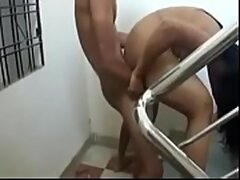 Self made hindi sex movie of a slutty..