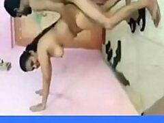 Malayalam girl Reshma threesome with hindi..