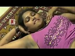 Telugu Desi girl enjoys foreplay showing..